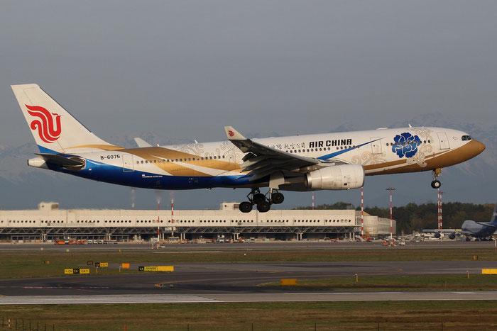 B-6076 A330-243 797 Air China @ Milano Malpensa Airport 14.04.2015 © Piti Spotter Club Verona