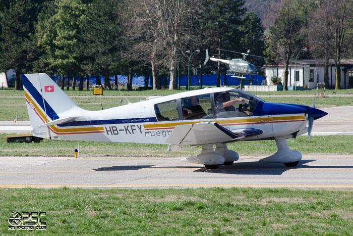 HB-KFY Robin DR-400/180 DR40 2560 Fluggrupep Mollis @ Aeroporto di Bolzano © Piti Spotter Club Verona