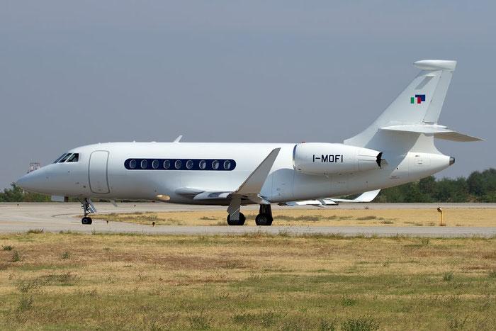 I-MOFI Falcon 2000LX 213 Sirio @ Bologna Airport 10.10.2011 © Piti Spotter Club Verona