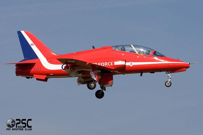 XX177   Hawk T1  312024/024  Red Arrows © Piti Spotter Club Verona