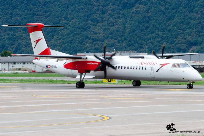 OE-LGL DHC-8-402 4310 Austrian Airlines @ Aeroporto di Bolzano © Piti Spotter Club Verona