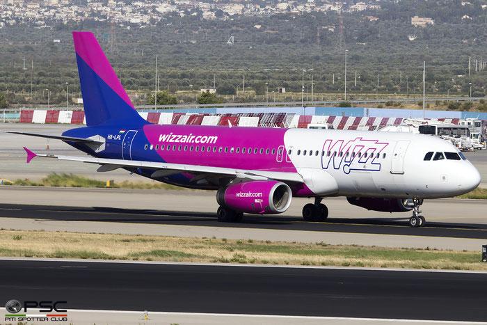HA-LPL  A320-232  3166  Wizz Air  @ Athens 2015 © Piti Spotter Club Verona