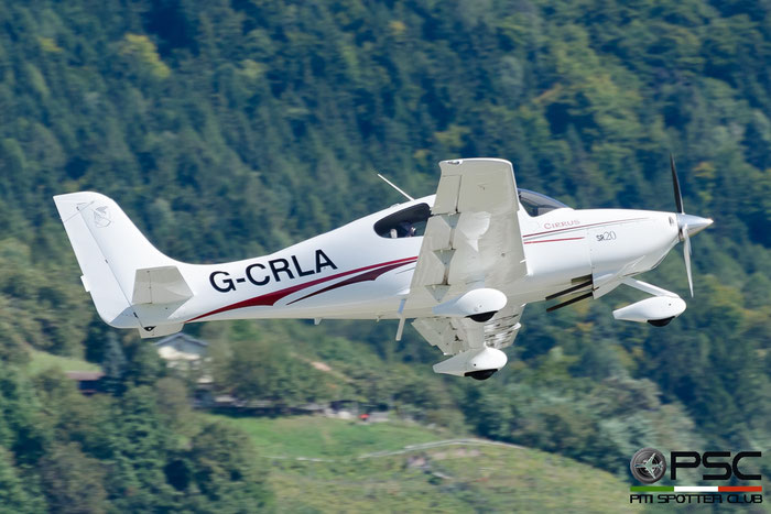 G-CRLA Cirrus Design Corp SR-20 SR20 1388 @ Aeroporto di Bolzano © Piti Spotter Club