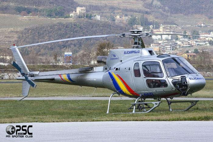 I-DREI - Eurocopter AS 350B3 Ecureuil - Elicampiglio @ Aeroporto di Trento © Piti Spotter Club Verona
