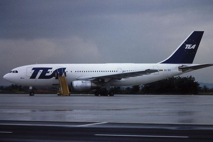 OO-TEF  A300B1  2  TEA - Trans European Airways  @ Aeroporto di Verona © Piti Spotter Club Verona