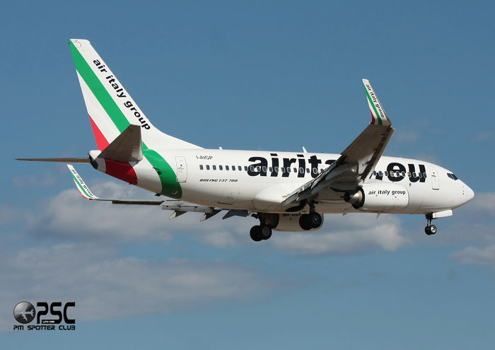 I-AIGP  B737-7GL  37233/2578  Air Italy (2005)  @ Aeroporto di Verona © Piti Spotter Club Verona