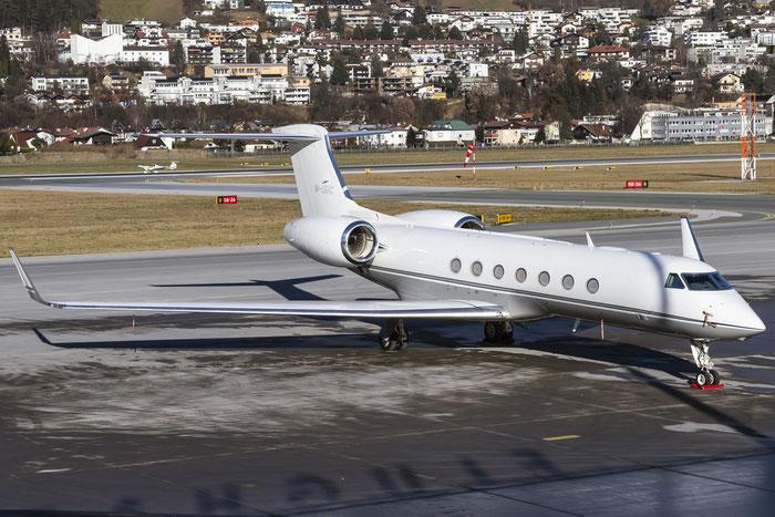 M-UGIC G550 5406 Jet Aviation Business Jets @ Innsbruck Airport 29.12.2015 © Piti Spotter Club Verona