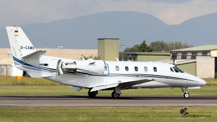 D-CAWO  Ce560XLS+  560-6271  Aerowest  @ Aeroporto di Verona 09.2020  © Piti Spotter Club Verona