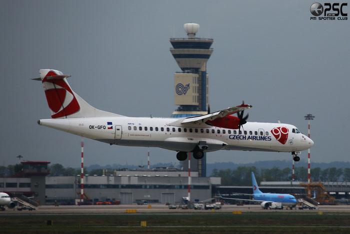 OK-GFQ ATR72-212A 674 CSA Czech Airlines @ Milano Malpensa Airport 04.10.2013 © Piti Spotter Club Verona