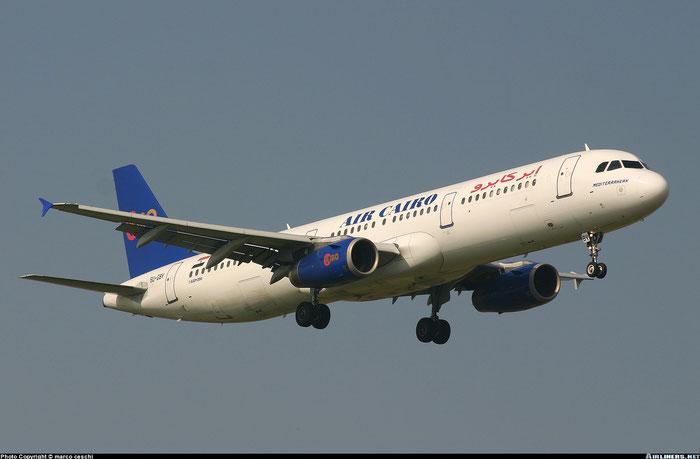 SU-GBV  A321-231  715  Air Cairo @ Aeroporto di Verona © Piti Spotter Club Verona