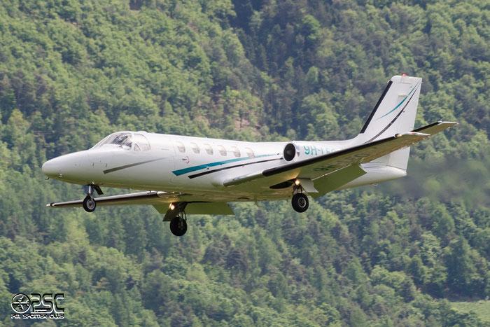 9H-LEO Ce550 550-0139/154 @ Aeroporto di Bolzano © Piti Spotter Club Verona
