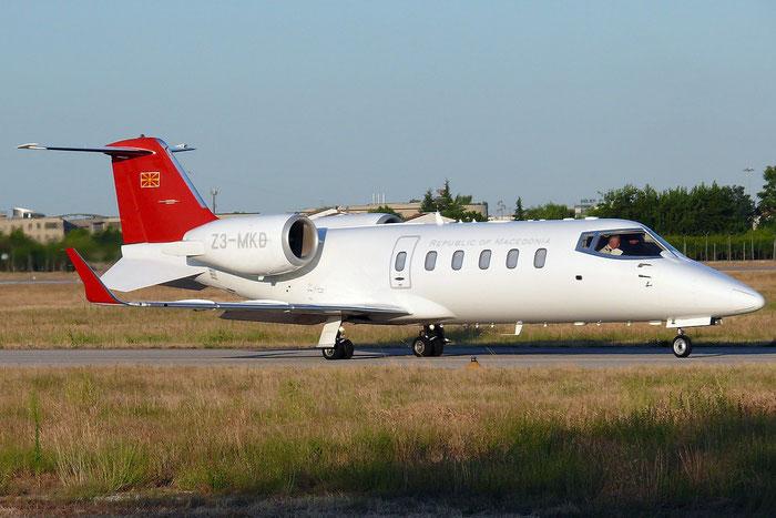 Z3-MKD Learjet 60 LJ60 60-279 Macedonia Government @ Aeroporto di Verona © Piti Spotter Club Verona