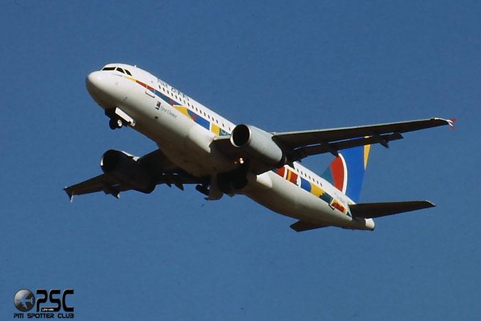 G-OOAC  A320-231  327  Air 2000  @ Aeroporto di Verona © Piti Spotter Club Verona