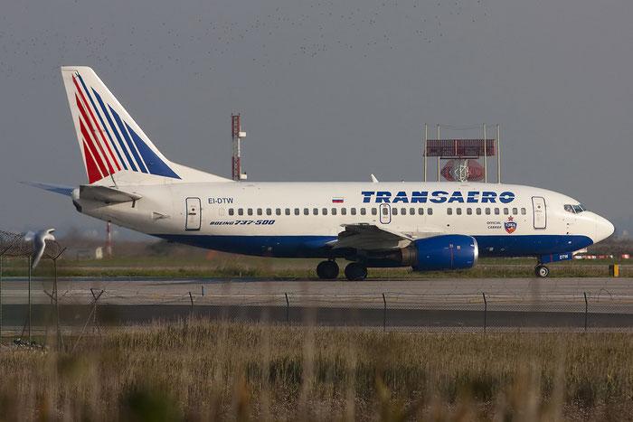 EI-DTW B737-5Y0 25188/2238 Transaero Airlines @ Venezia Airport 08.11.2012 © Piti Spotter Club Verona