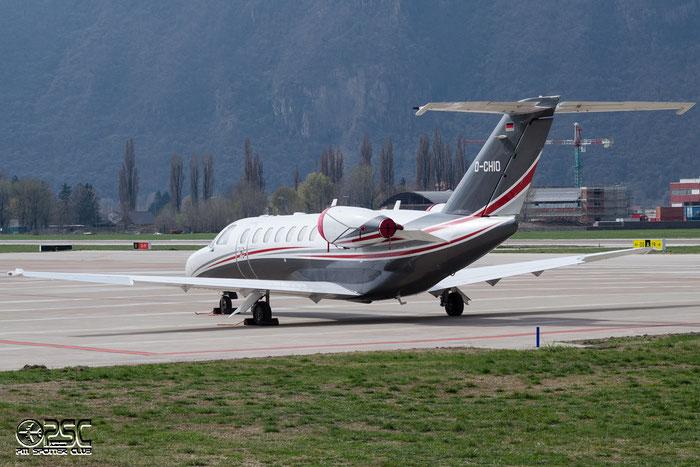 D-CHIO Ce525B 525B-0378 E-Aviation @ Aeroporto di Bolzano © Piti Spotter Club Verona