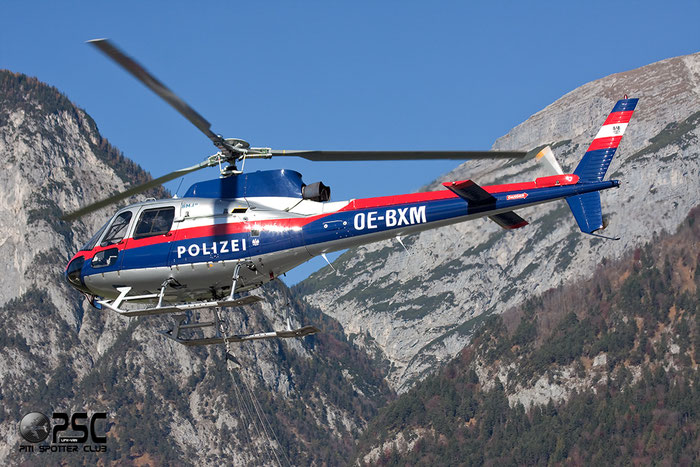 OE-BXM Aerospatiale AS350B1 Ecureuil Serial 2113 @ Innsbruck Airport 26.10.2013 © Piti Spotter Club Verona