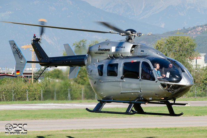 D-HAUI Meravo Eurocopter EC-145 @ Aeroporto di Bolzano © Piti Spotter Club Verona