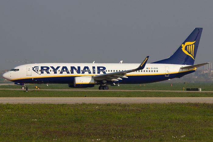 EI-EVO B737-8AS 40297/4011 Ryanair  @ Bologna Airport 14.03.2014 © Piti Spotter Club Verona