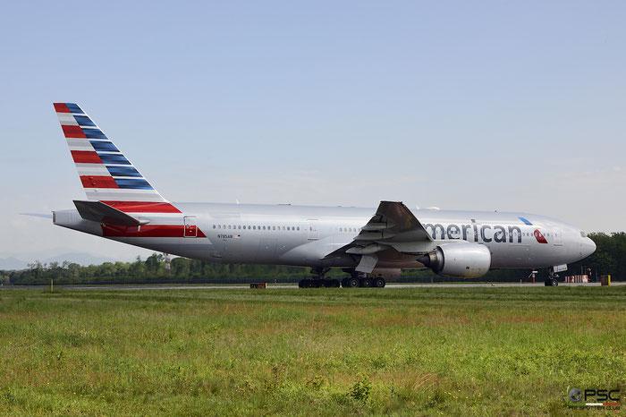 N785AN B777-223ER 30005/274 American Airlines @ Milano Malpensa Airport 05.05.2018 © Piti Spotter Club Verona