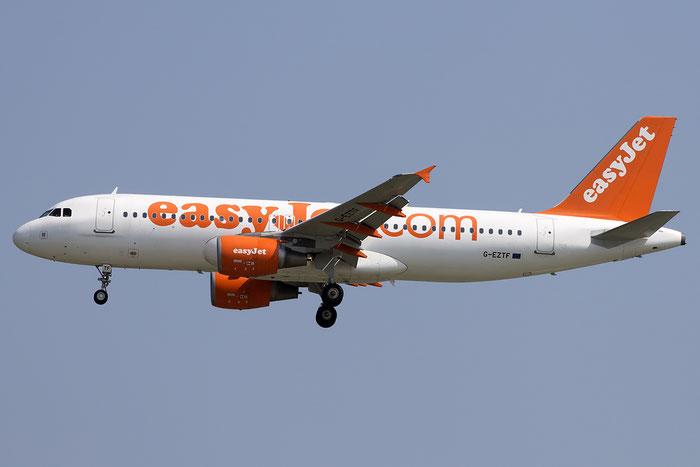 G-EZTF A320-214 3922 EasyJet Airline @ Venezia Airport 05.06.2015  © Piti Spotter Club Verona