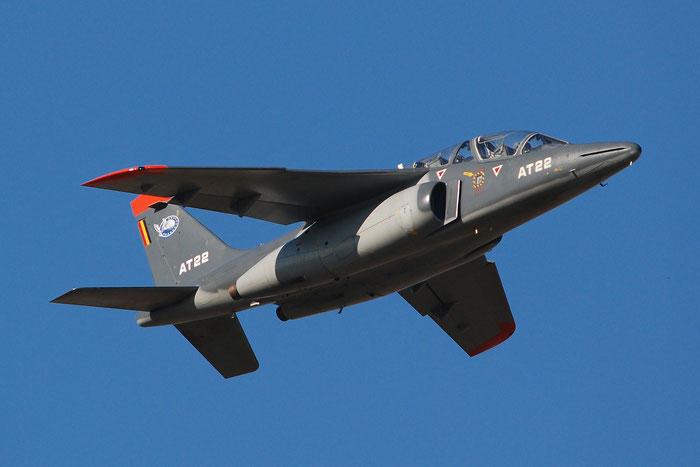 AT22   Alpha Jet 1B+  B22/1091  Beauvechain © Piti Spotter Club Verona