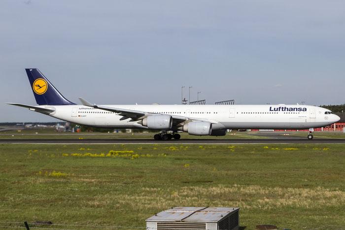 D-AIHT A340-642 846 Lufthansa @ Frankfurt Airport 08.05.2015 © Piti Spotter Club Verona