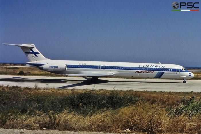 OH-LMX MD-82 49906/1786 Finnair © 2018 courtesy of Marco Ceschi - Piti Spotter Club Verona