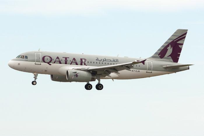 A7-CJA A319-133 (ACJ) 1656 Qatar Airways @ Venezia Airport 02.06.2013  © Piti Spotter Club Verona