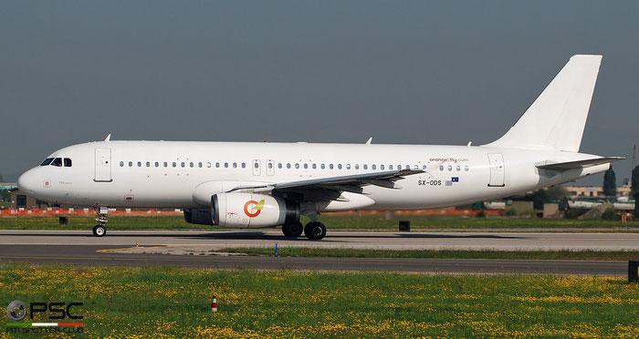 SX-ODS A320-232 2724 Orange2fly @ Aeroporto di Verona 04.2019  © Piti Spotter Club Verona