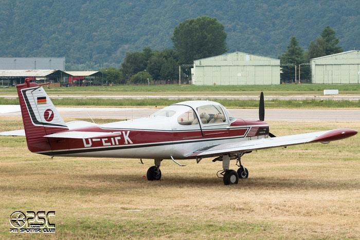D-EIFK Fuji FA-200 Aero Subaru SUBA @ Aeroporto di Bolzano © Piti Spotter Club Verona