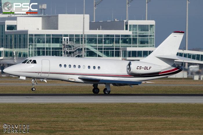 CS-DLF Falcon 2000EX-EASy 134 NetJets Europe @ Munich Airport 13.12.2015 © Piti Spotter Club Verona