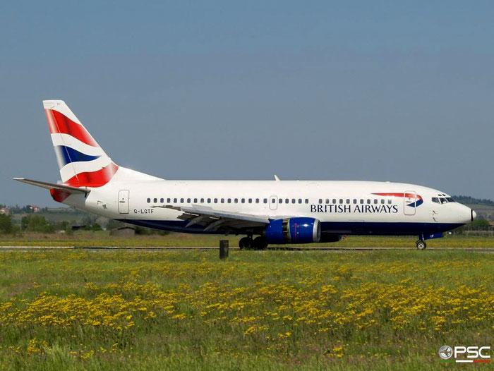 G-LGTF B737-382 24450/1873 British Airways @ Aeroporto di Verona 15.04.2007  © Piti Spotter Club Verona
