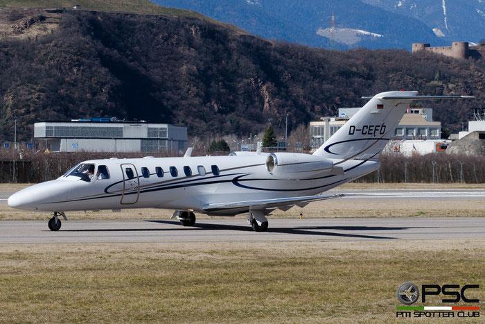 D-CEFD Ce525B 525B-0120 EFD Eisele Flugdienst @ Aeroporto di Bolzano © Piti Spotter Club Verona