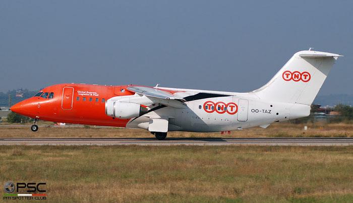 OO-TAZ BAe146-200QC E2188 TNT Airways @ Aeroporto di Verona   © Piti Spotter Club Verona