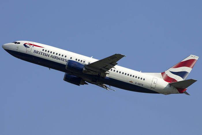 G-GBTB B737-436 25860/2545 British Airways @ Venezia Airport 05.09.2014 © Piti Spotter Club Verona