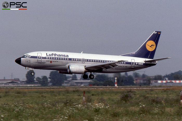 D-ABXF B737-330 23527/1285 Lufthansa © 2018 courtesy of Marco Ceschi - Piti Spotter Club Verona