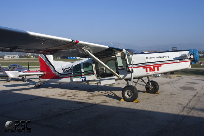 N699SA PILATUS PC-6/B2-H2 669 @ Aeroporto Verona Boscomantico © Piti Spotter Club Verona