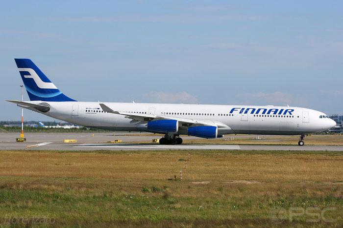 OH-LQB A340-313E 835 Finnair @ Helsinki Airport 2008 © Piti Spotter Club Verona