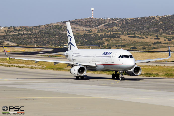 SX-DGY  A320-232  6611  Aegean Airlines @ Athens 2019 © Piti Spotter Club Verona