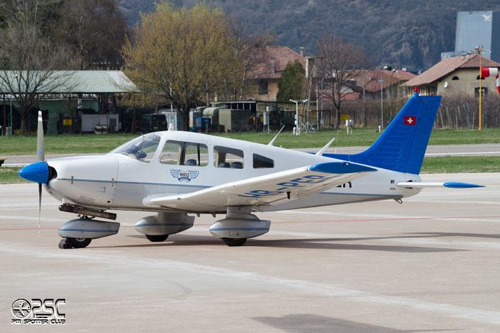 HB-PER Piper PA-28-181 Archer 2 P28A 28-8090221 Lockair SA, Ascona @ Aeroporto di Bolzano © Piti Spotter Club Verona