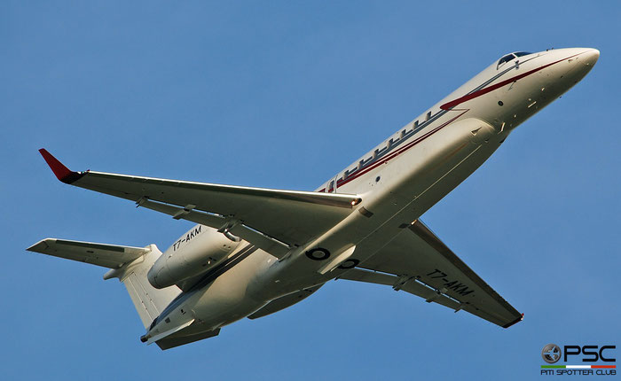 T7-AKM ERJ135BJ 14501232 Umatila Trading Ltd @ Aeroporto di Verona 09.2019  © Piti Spotter Club Verona