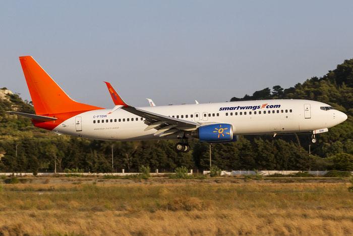 C-FTDW B737-808 34704/1958 Sunwing Airlines @ Rhodes Airport 07.2015 © Piti Spotter Club Verona