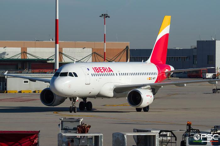 EC-MFP A319-111 998 Iberia Líneas Aéreas de España @ Venezia Airport 22.12.2016 © Piti Spotter Club Verona