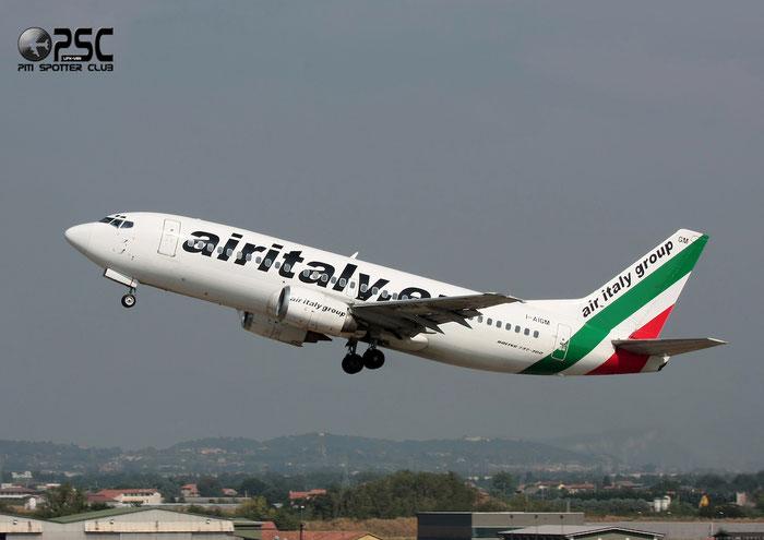 I-AIGM  B737-3Q8  24299/1598  Air Italy (2005)  @ Aeroporto di Verona © Piti Spotter Club Verona