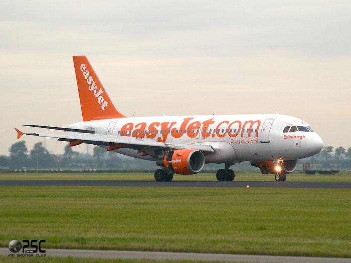 G-EZBM A319-111 3059 EasyJet Airline @ Amsterdam Airport 20.09.2013 © Piti Spotter Club Verona