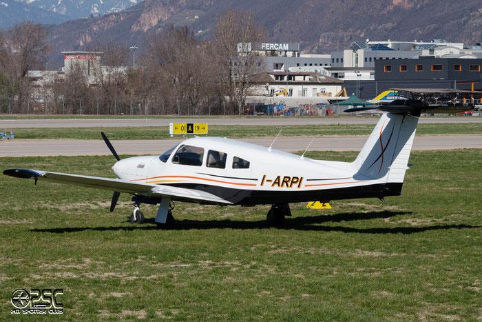 I-ARPI PIPER PA28RT-201T 28R-7931273 @ Aeroporto di Bolzano © Piti Spotter Club Verona