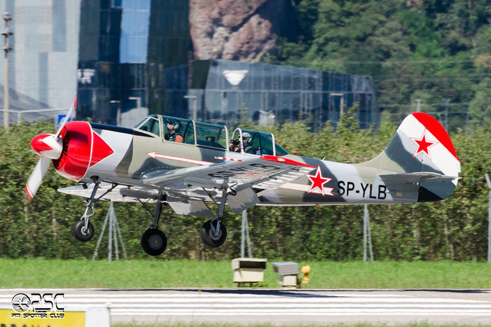 SP-YLB Yakovlev Yak-52 YK52 866408 @ Aeroporto di Bolzano © Piti Spotter Club Verona