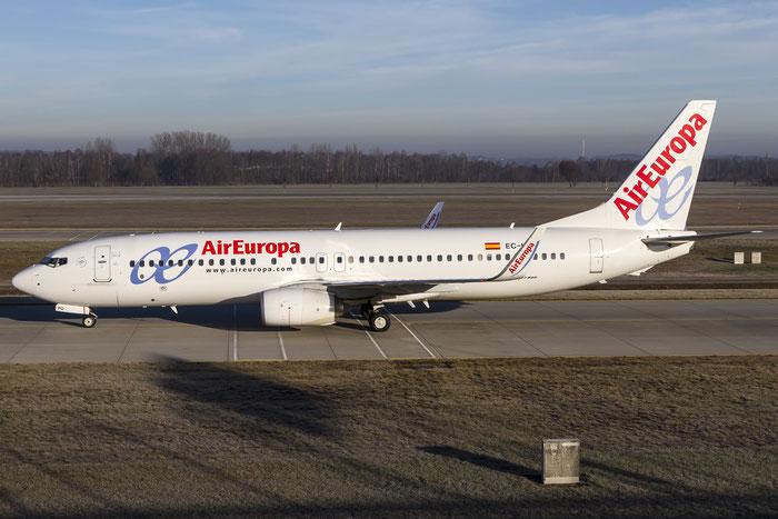 EC-LPQ B737-85P 35496/4015 Air Europa @ Munich Airport 28.12.2015 © Piti Spotter Club Verona