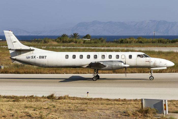 SX-BMT SA227AC AC-699 Swiftair Hellas @ Rhodes Airport 07.2015 © Piti Spotter Club Verona