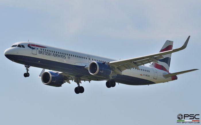 G-NEOS A321-251NX 8637 British Airways @ Aeroporto di Verona 07.2020  © Piti Spotter Club Verona
